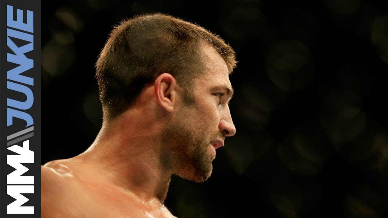 Luke Rockhold says he'll fill in when GSP doesn't make it to UFC 217 fight with Bisping