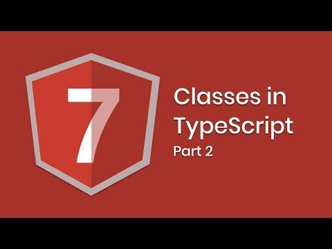 Learn Angular 7 | Classes | Part 2 | Eduonix