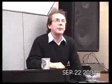 Mellotron - Ian McDonald talks about Mellotrons, King Crimson, etc. Tronto Mellotron Workshop Toronto, Cananda; September 22, 2001.