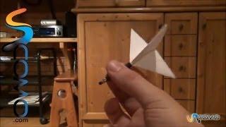Cómo hacer un dardo casero Video