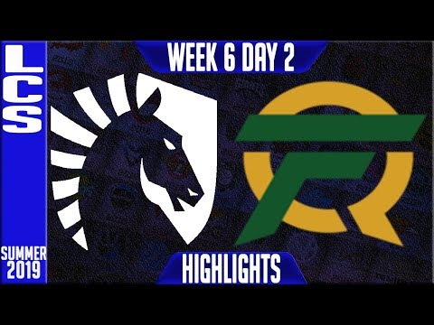 TL Vs FLY Highlights | LCS Summer 2019 Week 6 Day 2 | Team Liquid Vs FlyQuest