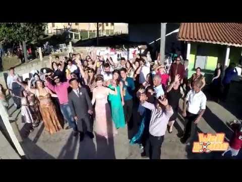 WELLDRONE em Casamento de VALKIRIA E MASSACHI em Bom Repouso MG