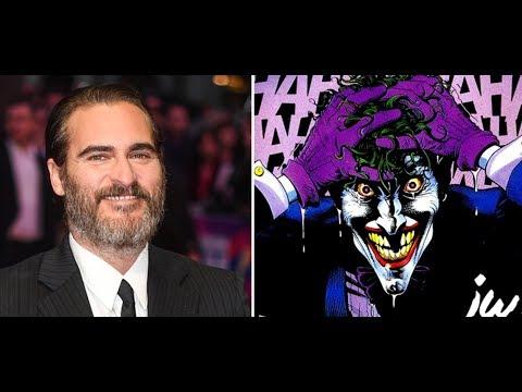 Joaquin Phoenix is officially the Joker