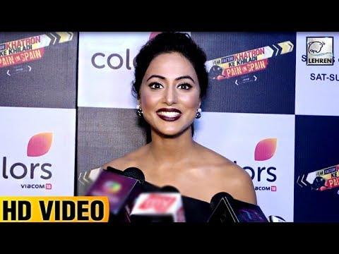 Hina Khan HINTS At Winning Khatron Ke Khiladi 8 (видео)