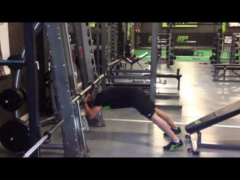 Bodyweight Tricep Rope Press