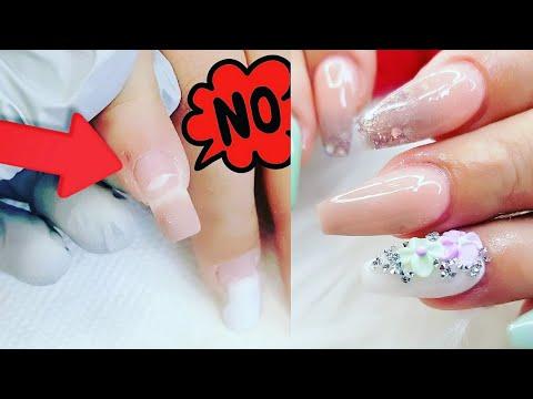 Nail Art Videos Levantamientos De uñas Acrilicas/Algunas Razones por lo Cual Retocar cada 15 Dias