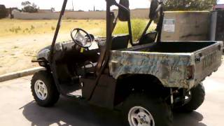 3. 2007 YAMAHA RHINO 660 4WD CAMO