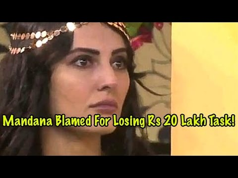 Bigg Boss 9: Mandana Karimi Blamed For Losing Rs 2