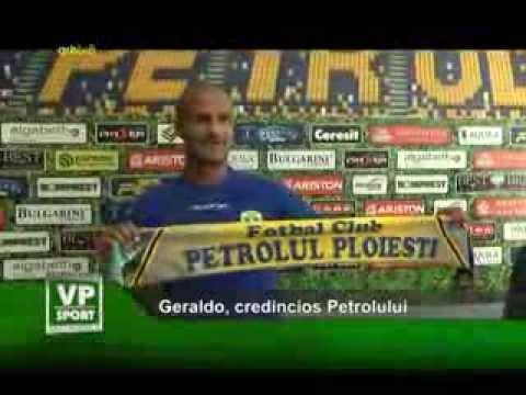 Geraldo, credincios Petrolului