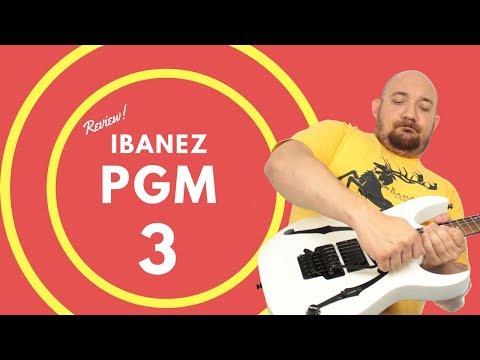 13# Ibanez PGM 3 com DiMarzio Evolution - Review