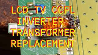 Find the correct TV part for your TV and more at ShopJimmy.com Click Here: http://bit.ly/ShopJimmyTroubleshooting a defective inverter transformer in an LCD tv.