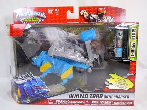 Review: Ankylo Zord with Charger (Power Rangers Dino Super Charge)