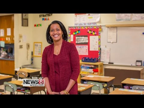 The new national teacher of the year is from.... Waterbury!
