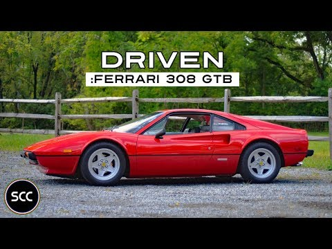(HD) SCC: Ferrari 308 GTB 1977 – Test Drive in top gear – Probefahrt – GoPro footage!