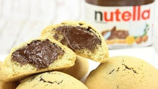 Nutella Chocolate Chip Cookies (Nutella Stuffed Chocolate Chip Cookies)