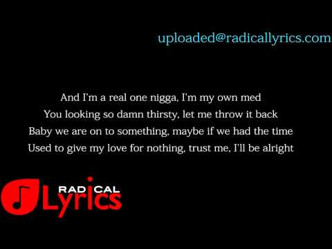 Drake ft Tinashe-On A Wave  LYRICS