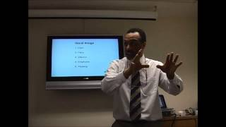 Presentation Skills - Vocal Image and Voice Projection - Part 2