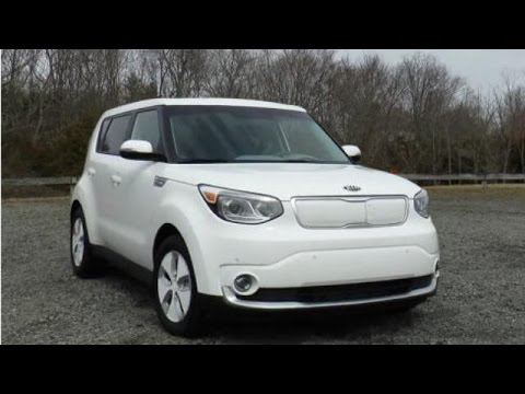 2015 Kia Soul EV Test Drive Video Review – Compact Electric Car