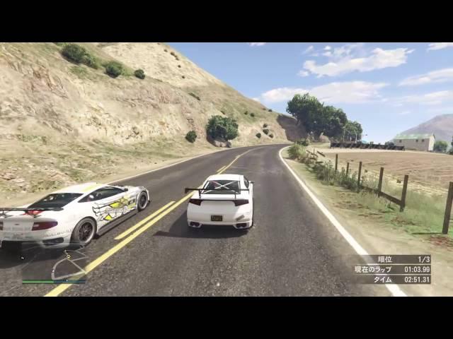 【GTA5】SREX レース Grapeseed Circuit