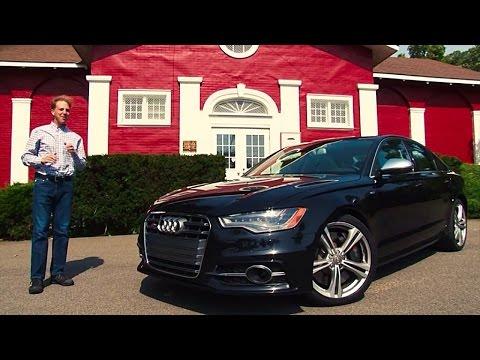 2014 Audi S6 – TestDriveNow.com Review by Auto Critic Steve Hammes