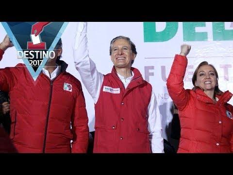 Del Mazo celebra su triunfo en las elecciones