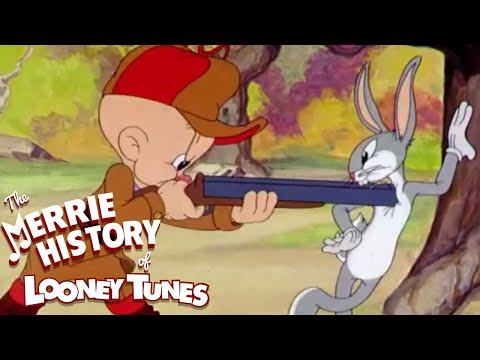 The Birth of Bugs Bunny | THE MERRIE HISTORY OF LOONEY TUNES