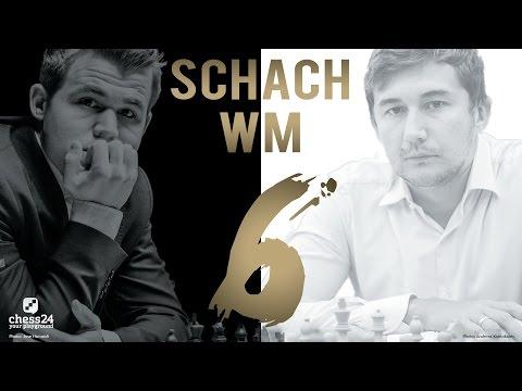 Schach WM 2016: Carlsen - Karjakin Partie 6 Schach WM 2 ...