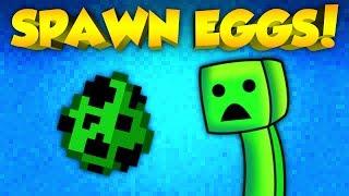 Minecraft Mods - CRAFT SPAWN EGGS! | Craftable Spawn Eggs Mod! (Minecraft Mod Spotlight)