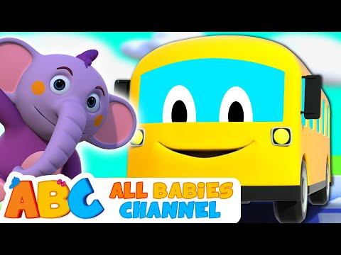 Wheels on the Bus | All Babies Channel | Nursery Rhymes & Kids Songs | All Babies Channel