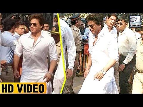 Shah Rukh Khan At Sridevi's Last Rites