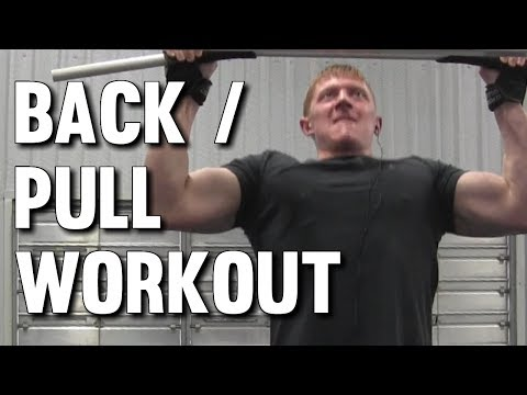 Back & Biceps Pull Workout for Lean Muscle Gains