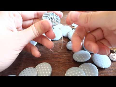 TIP Costume historique : recouvrir ses boutons à la main