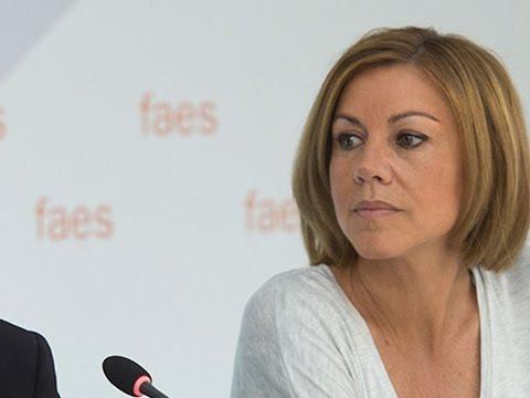 La secretaria general del Partido Popular, Mª Dolores de Cospedal, participa en el Campus FAES