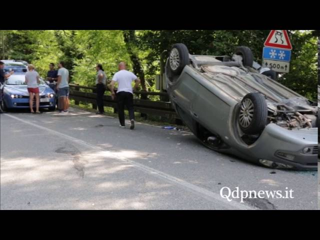 Qdpnews.it - Refrontolo. Incidente in via Mire