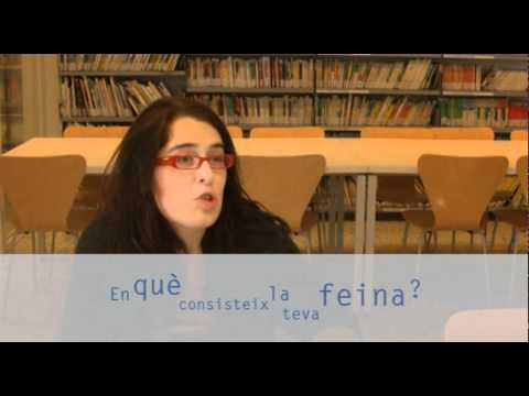 Eva Miraball: Responsable de biblioteca