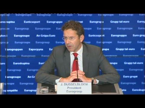 Γ. Ντάισελμπλουμ: Ο χρόνος τελειώνει κι η μπάλα είναι πλέον στο ελληνικό γήπεδο