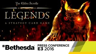 Elder Scrolls Legends Stage Show - E3 2016 Bethesda Press Conference by GameSpot