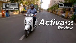 10. Honda Activa 125 Review & Features | Torque - The Automobile Show