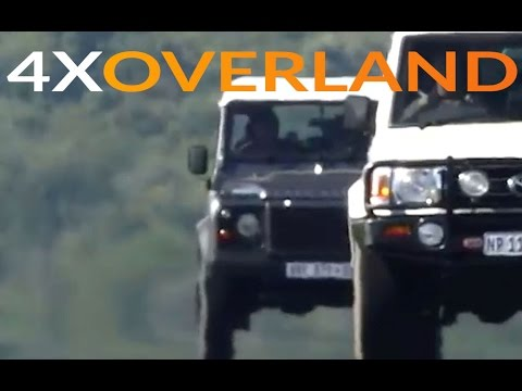 Land Rover Defender 110 VS Toyota Land Cruiser 76 Wagon