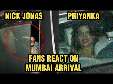 Priyanka Chopra Nick Jonas Hide Faces From Indian