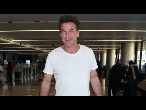 Billy Baldwin Heads To NCAA Wrestling Championships As His Kids Participate In National Walkout Day