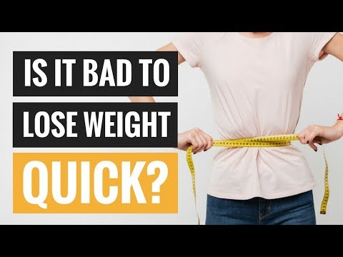 Is It Bad to Lose Weight Too Quickly? (видео)