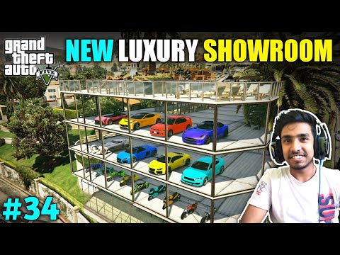 BUYING MODIFIED CARS & BIKES FOR MY SHOWROOM | GTA V GAMEPLAY #34