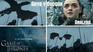 Video Análisis Arya y Drogon, Nuevo Adelanto Temp. 8 Game Of Thrones MP3, 3GP, MP4, WEBM, AVI, FLV Maret 2019