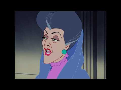 Cinderella(1950) - The Cruelty Of The Stepmother And Her Daughter's