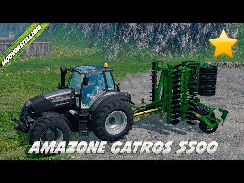 Amazone Catros 5500 v2.0