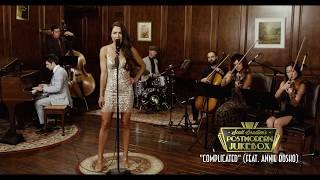 "Get the song:  http://smarturl.it/pmjcomplicatedSee PMJ on tour: http://www.pmjtour.comMeet Annie Bosko - an incredible singer from the country world that is making her PMJ debut on this classic style arrangement of Avril Lavigne's ""Complicated.""The Band:Annie Bosko - vocalshttp://www.instagram.com/annieboskohttp://www.facebook.com/annieboskomusichttp://www.twitter.com/annieboskoArtyom Manukyan - cellohttp://www.instagram.com/artyommanukyanLauren Baba - violahttp://www.instagram.com/bababamusicDesiree Hazley - violinhttp://www.instagram.com/greendeezyJonathan Richards - basshttp://www.instagram.com/jonathanrichardsmusicAaron McClendon - drumshttp://www.instagram.com/amacdrumsScott Bradlee - pianohttp://www.youtube.com/scottbradleehttp://www.twitter.com/scottbradleehttp://www.instagram.com/scottbradleehttp://www.facebook.com/scottbradleemusicEngineered by Matt TelfordVideo by Braverijah SageBelow are only some of the dates we currently have on sale and we are always announcing new shows.... Visit http://www.pmjtour.comfor ALL DATES!NORTH AMERICA 2017Aug 04 - Atlanta, GA*Aug 05 - Nashville, TN*Aug 06 - Rogers, AR* Aug 08 - Dallas, TX*Aug 09 - Houston, TX*Aug 11 - Phoenix, AZ*Aug 12 - Los Angeles, CA *Aug 13 - San Diego, CA*Aug 16 - Concord, CA*Oct  04 - Denver, CO*Oct  20 - Clearwater, FLOct  20 - Anchorage, ALOct  21 - Fairbanks, ALOct  22 - Birmingham, ALOct  24 - Cleveland, OHOct  26 - Carmel, INOct  27 - Midland, MIOct  28 - East Lansing, MIOct  29 - Traverse City, MIOct  31 - Cincinnati, OHNov 01 - Milwaukee, WINov 02 - Chicago, ILNov 05 - Kansas City, MONov 07 - Roanoke, VANov 08 - Norfolk, VANov 09 - Richmond, VANov 12 - Wilmington, DENov 13 - Worcester, MANov 14 - New York, NYNov 16 - Keene, NHNov 17 - Burlington, VTNov 18 - Ithaca, NYNov 19 - Portland, MENov 21 - New Haven, CTNov 24 - Pittsburgh, PANov 25 - Philadelphia, PANov 26 - Silver Spring, MDNov 28 - Memphis, TNNov 30 - Baton Rouge, LADec 03 - Austin, TX Dec 04 - San Antonio, TXDec 06 - Tucson, AZDec 0"