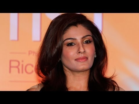 Raveena Tandon During The Launch Of Riso Rice Bran