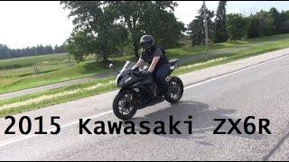 10. 2015 Kawasaki ZX6R 636 Ninja - Short Edit/MotoVLOG