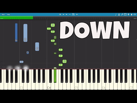 Video Marian Hill - Down - Piano Tutorial  (Apple AirPods Song) download in MP3, 3GP, MP4, WEBM, AVI, FLV January 2017